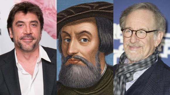 Bardem-Spielberg-Cortes