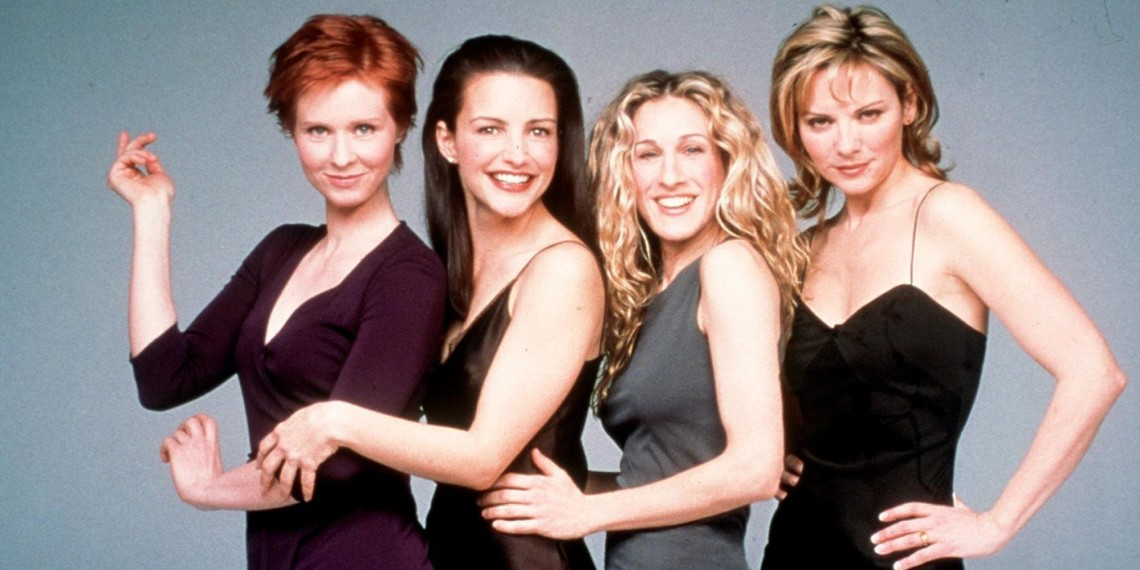 "375026 02: The cast of ""Sex And The City,"" Season 2 Clockwise from top left: Cynthia Nixon, Kristin Davis, Sarah Jessica Parker and Kim Cattrall. 1999 Paramount Pictures"