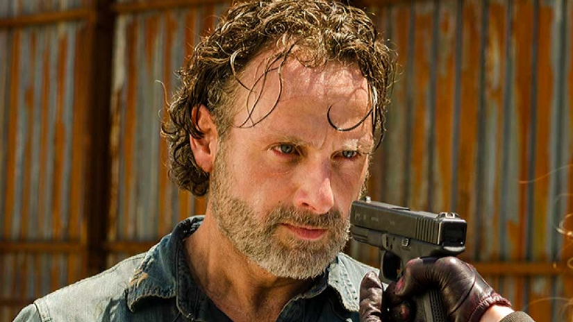 Andrew Lincoln Rick Grimes (2)