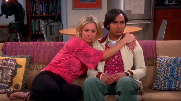 The big bang theory - Penny e Raj