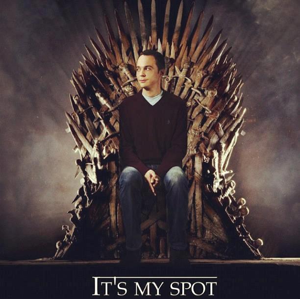 Sheldon Game of Thrones