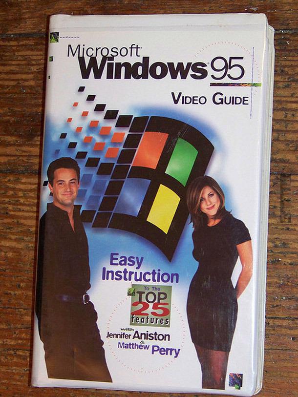 Matthew Perry e Jennifer Aniston windows