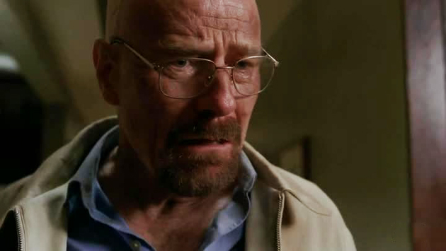 Breaking Bad Walt sconvolto