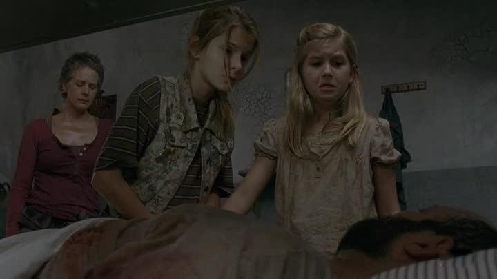Walking Dead - Padre morente