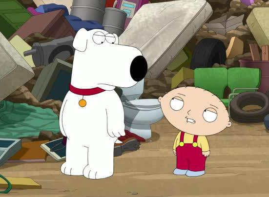 Family Guy - Brian e Stewie