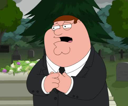 Family Guy - Funerale Brian