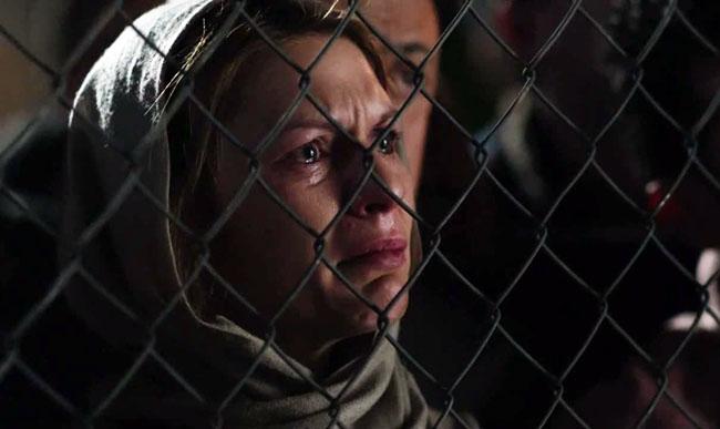 Homeland - Carrie guarda Brody morire