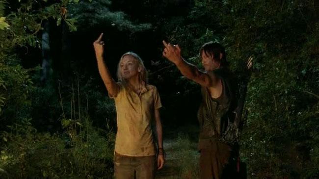 The Walking Dead - Dito medio