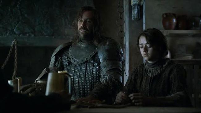 Game of Thrones - Mastino e Arya