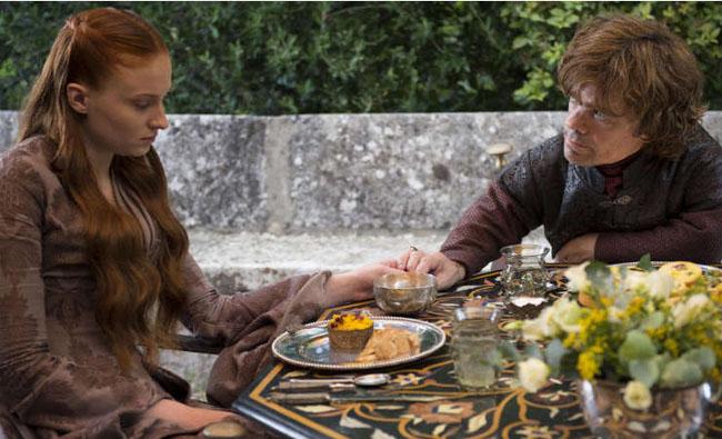 Tryion e Sansa