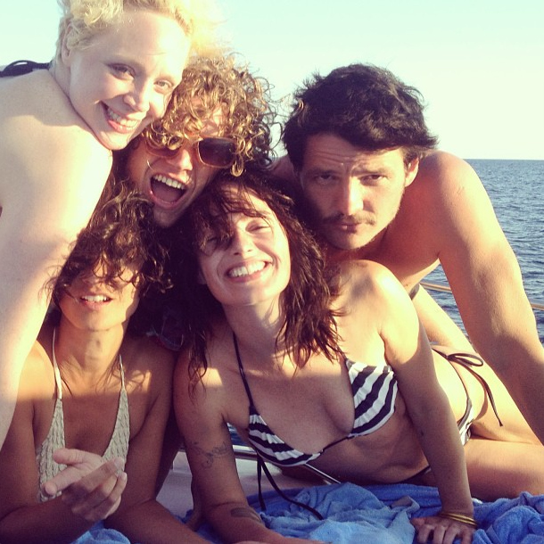 Cersei, Loris, brienne e oberyn al mare