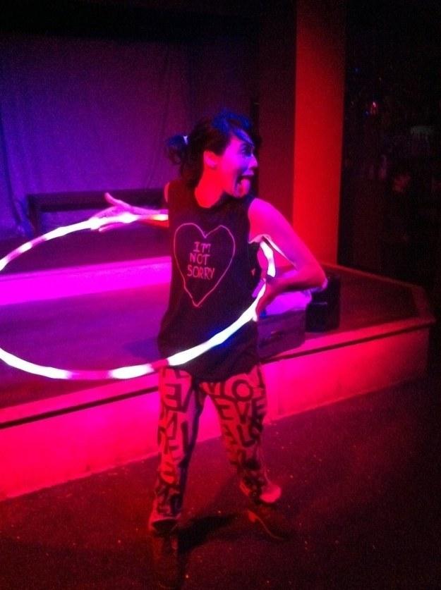 Cersei e l'hula hoop