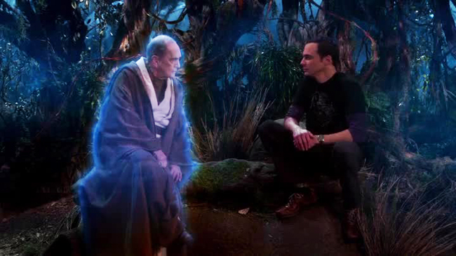 The Big Bang Theory - Jedi Proton