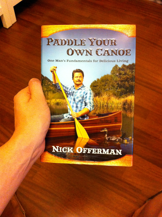 Nick Offerma Canoe