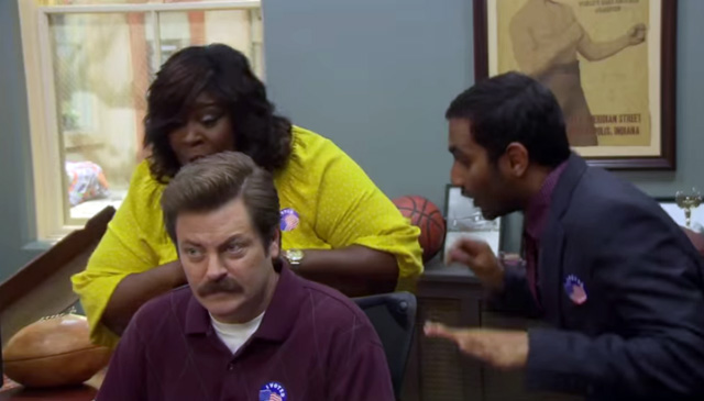 Parks 6 bloopers