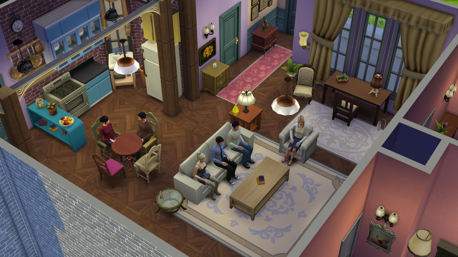Friends Sims (3)