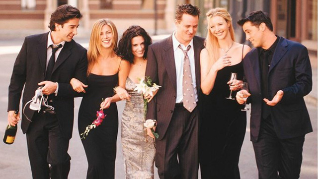 Friends cast eleganti