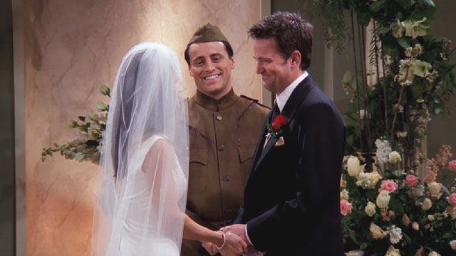 Monica Chandler Wedding