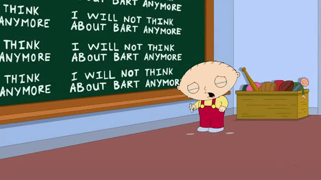 Simpons Family Guy - Stewie