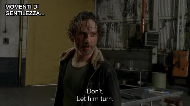 Rick let him turn