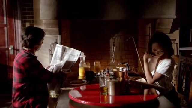 Vampire Diaries - Damon e Bonnie vivi