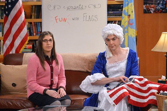 The Big Bang Theory flag