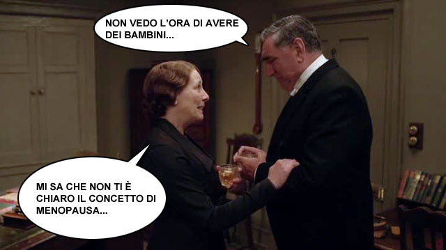 Downton Abbey - Carson tenerone MOD
