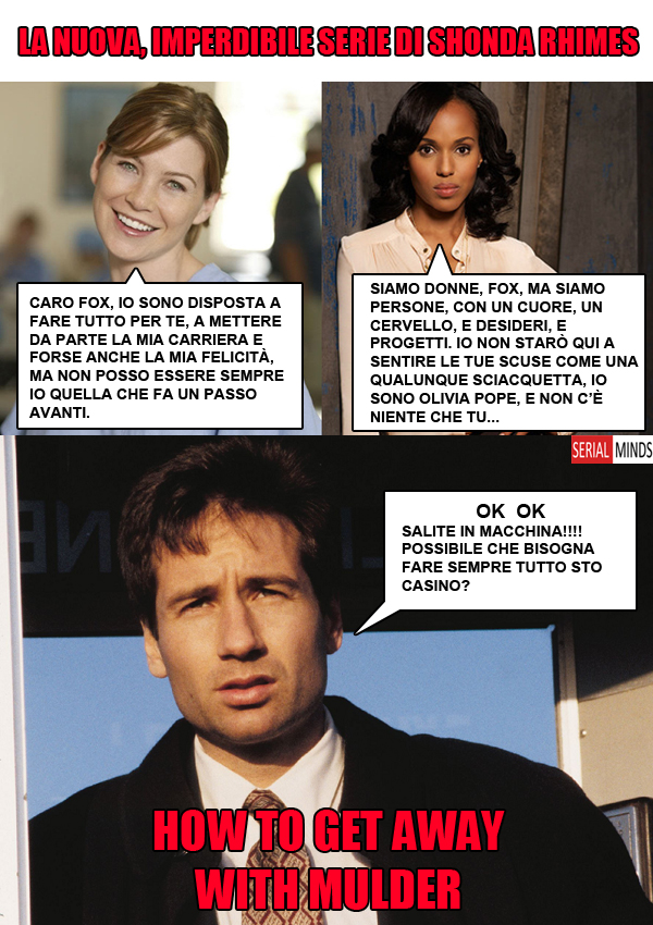 How to get away with Mulder