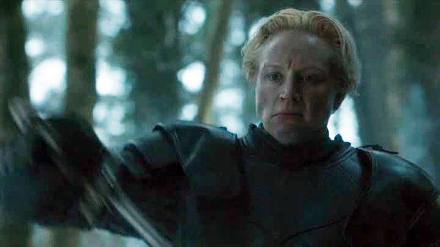 Game of Thrones 5 finale Brienne