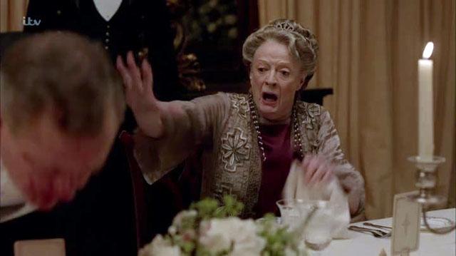 Downton Abbey conte ulcera