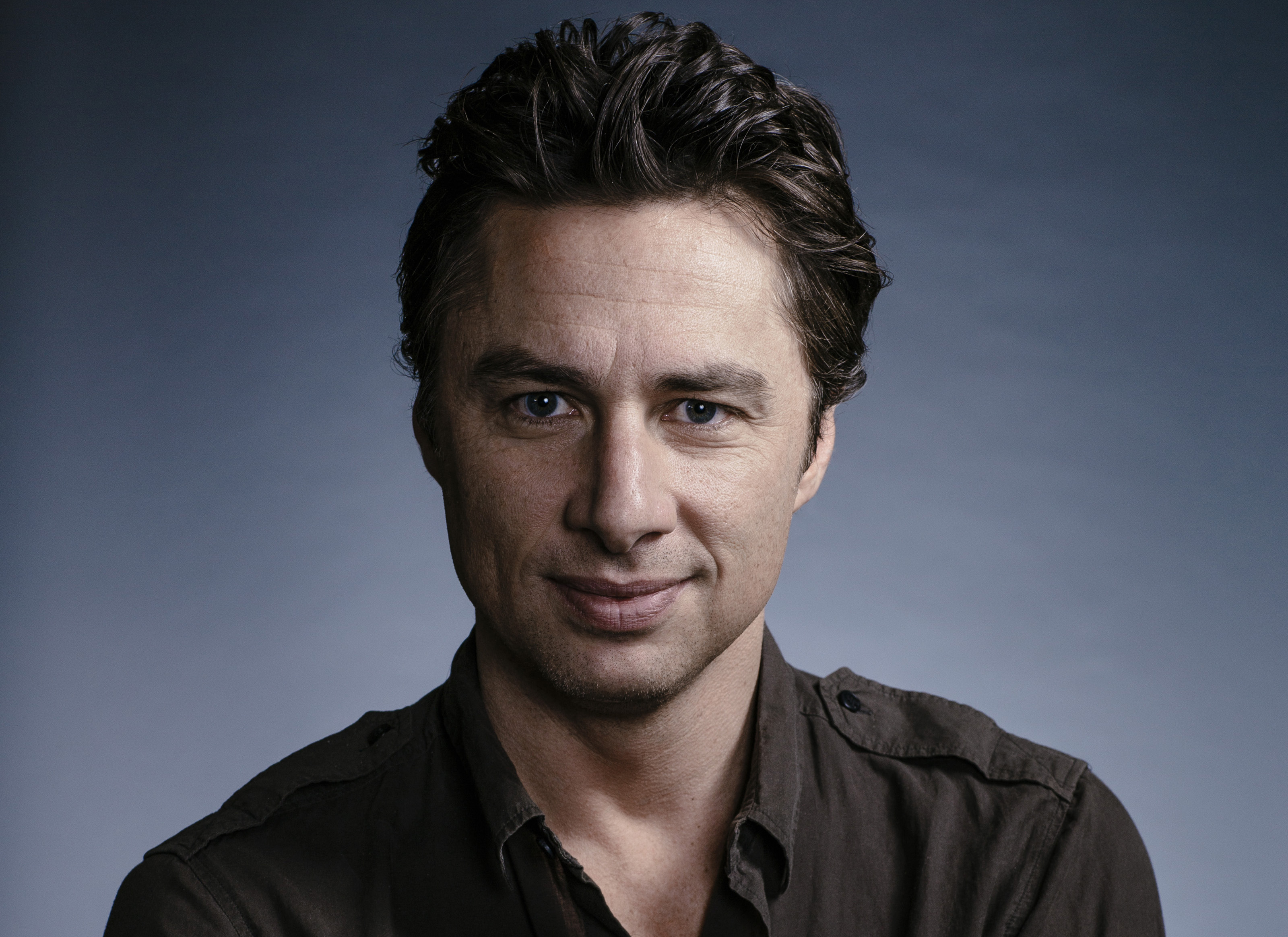 LOS ANGELES, CA - JUNE 23, 2014 - American Actor, Director and screenwriter Zach Braff poses at the Four Seasons Hotel, June 23, 2014, in Los Angeles, California. Braff first became known in 2001 for his role as Dr. John Dorian on the television series Scrubs, for which he was nominated for the Primetime Emmy Award for Outstanding Lead Actor in 2005. In 2004, Braff made his directorial debut with Garden State. He returned to his home state New Jersey to shoot the film, which was produced for $2.5 million. In April 2013, Braff announced he was launching a Kickstarter campaign to raise funds to shoot a new film, titled Wish I Was Here. (Photo by Bret Hartman/For The Washington Post)
