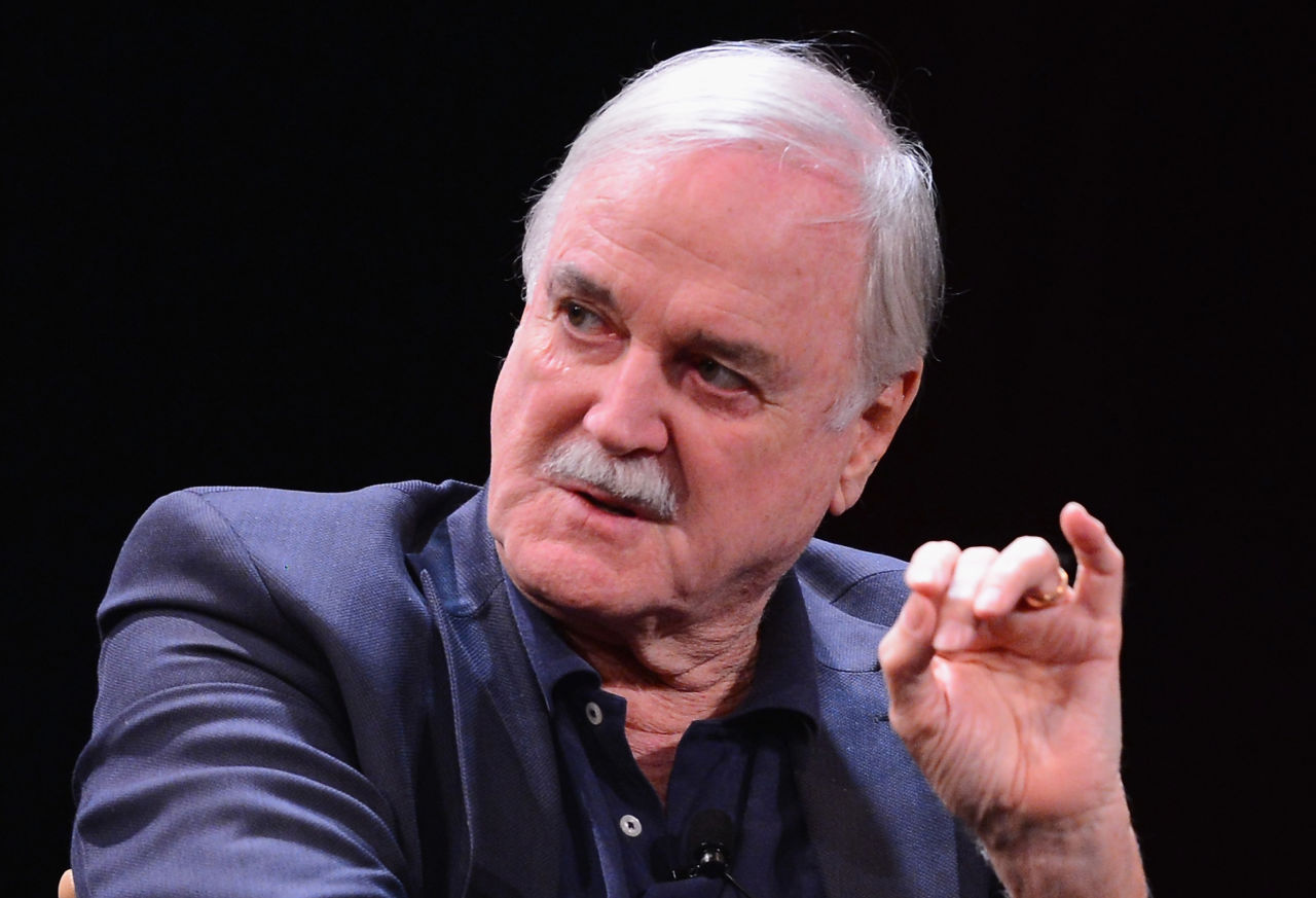 NEW YORK, NY - APRIL 24: John Cleese attends the Monty Python Press Conference during the 2015 Tribeca Film Festival at SVA Theater on April 24, 2015 in New York City. (Photo by Stephen Lovekin/Getty Images for the 2015 Tribeca Film Festival)