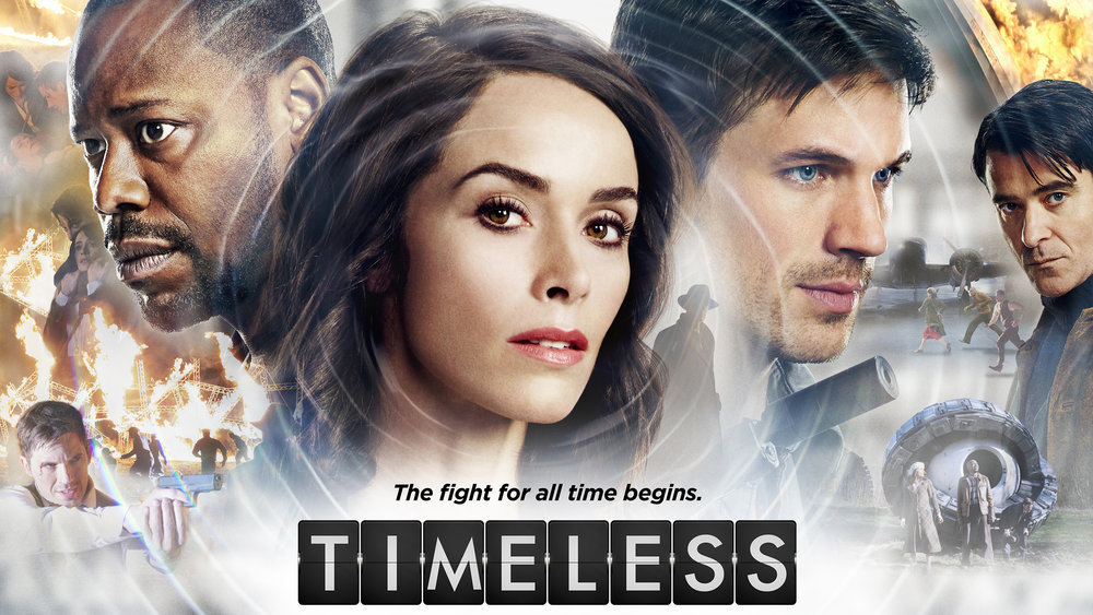 """TIMELESS -- Pictured: """"Timeless"""" Horizontal Key Art -- (Photo by: NBCUniversal)"""