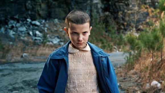Eleven nella seconda stagione di stranger things
