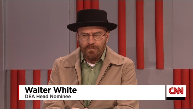 Walter White SNL