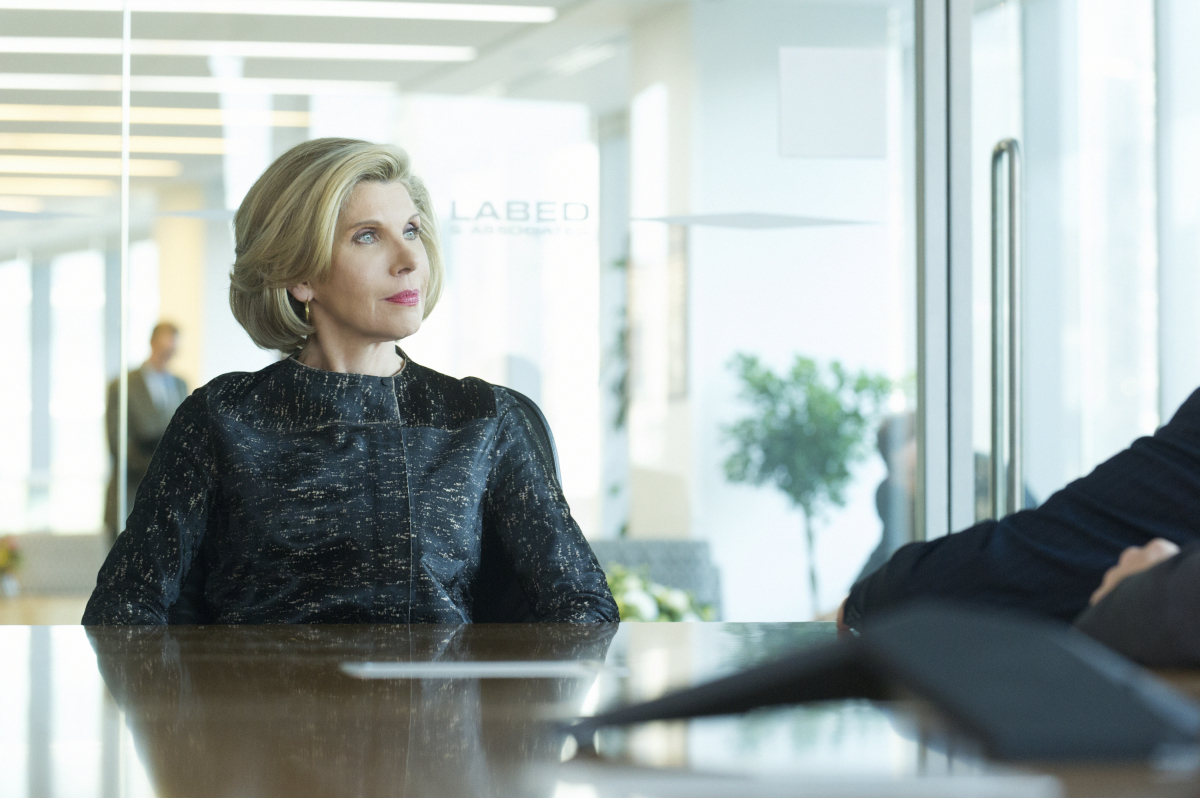 Pilot -- Episodic coverage of THE GOOD FIGHT. Pictured: Christine Baranski as Diane Lockhart. Photo: Jeff Neira/CBS ©2016 CBS Interactive, Inc. All Rights Reserved