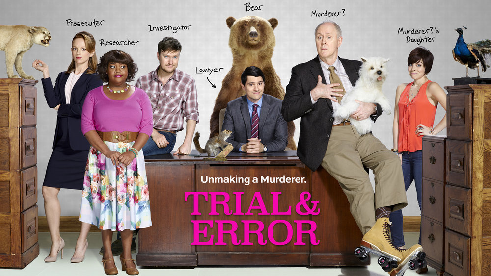 """TRIAL & ERROR -- Pictured: """"Trial & Error"""" Horizontal Key Art -- (Photo by: NBCUniversal)"""
