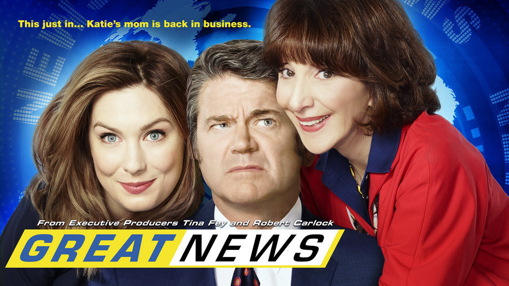 "GREAT NEWS -- Pictured: ""Great News"" Horizontal Key Art -- (Photo by: NBCUniversal)"