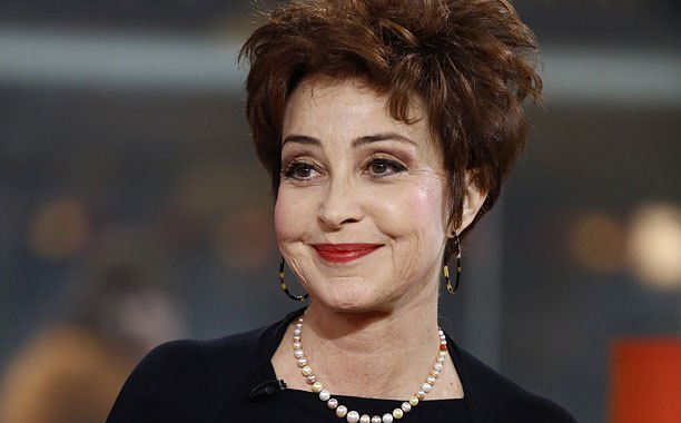 "TODAY -- Pictured: Annie Potts appears on NBC News' ""Today"" show -- (Photo by: Peter Kramer/NBC/NBC NewsWire)"