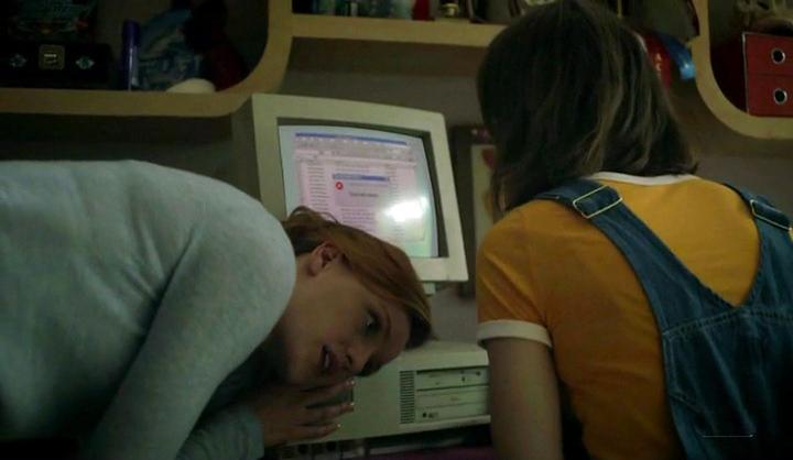 Halt and Catch Fire: Donna e Cameron al computer